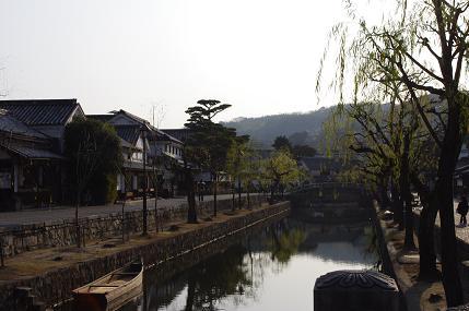 倉敷川風景