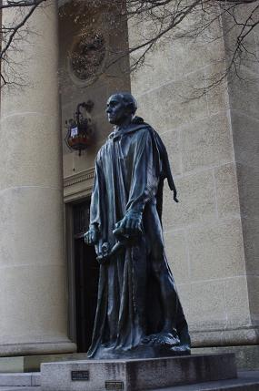 大原美術館銅像