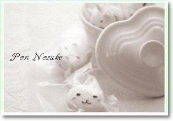 b白黒猫マカロン
