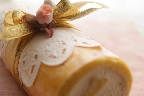 b横ロールケーキ