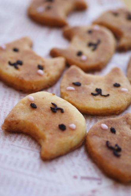 b縦ニャん子クッキー