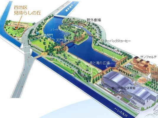 環水公園 整備箇所