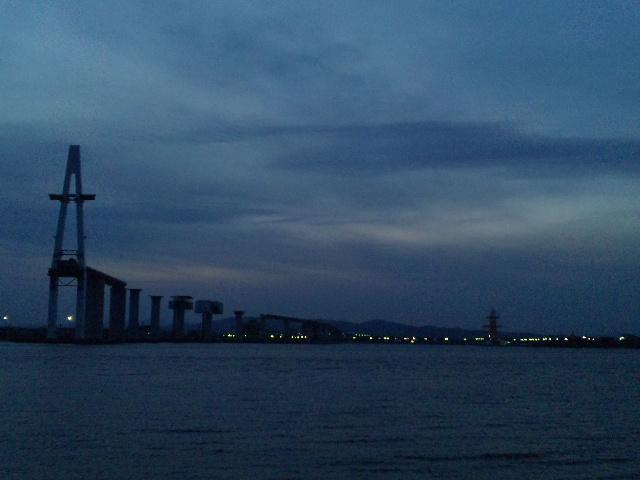 新湊大橋建設中 (3)