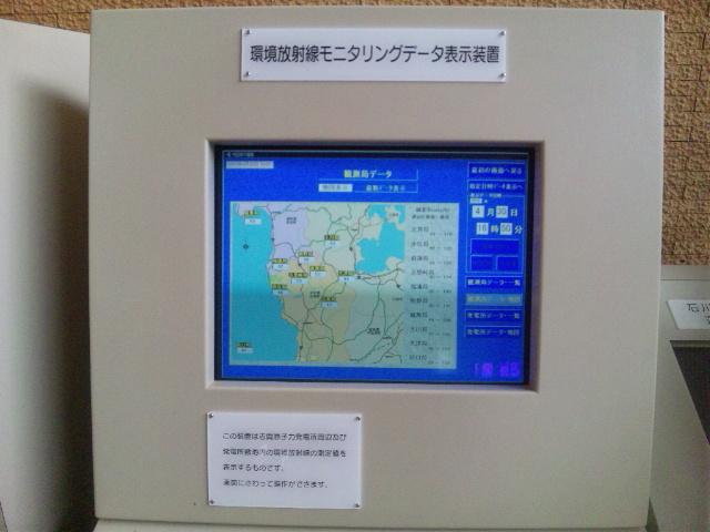 環境放射線モニタリングデータ