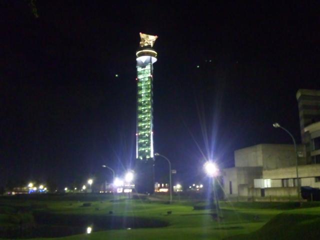 クロスランドタワー (夜)