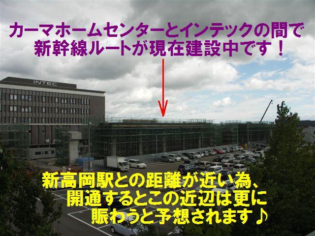 北陸新幹線 高岡ルート (3)