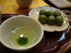 伊藤久右衛門 玉露と茶だんご