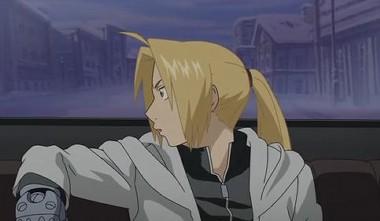 エド でも髪は結ぶ