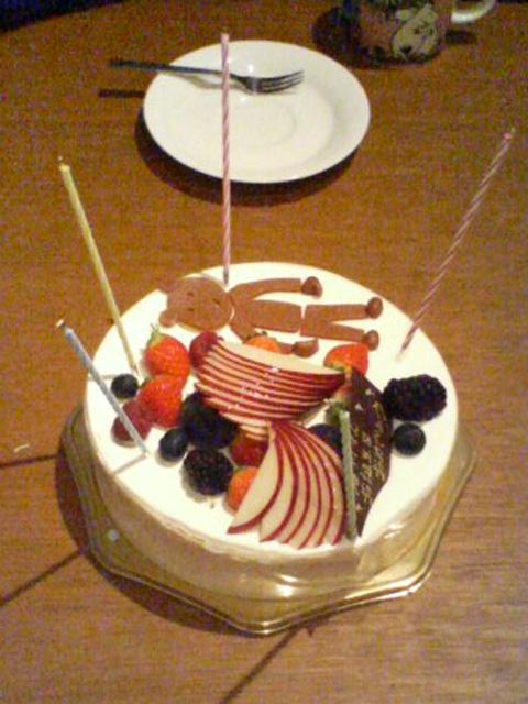 特製誕生日ケーキ