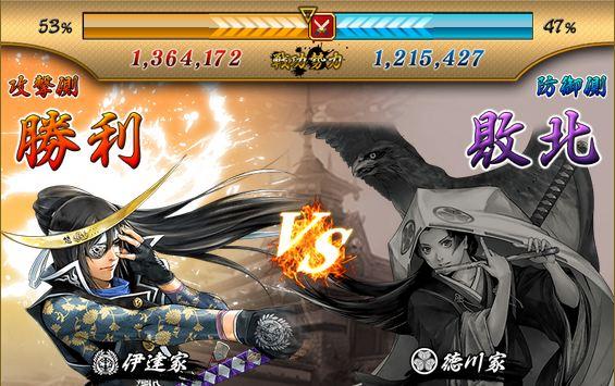 合戦結果徳川攻撃