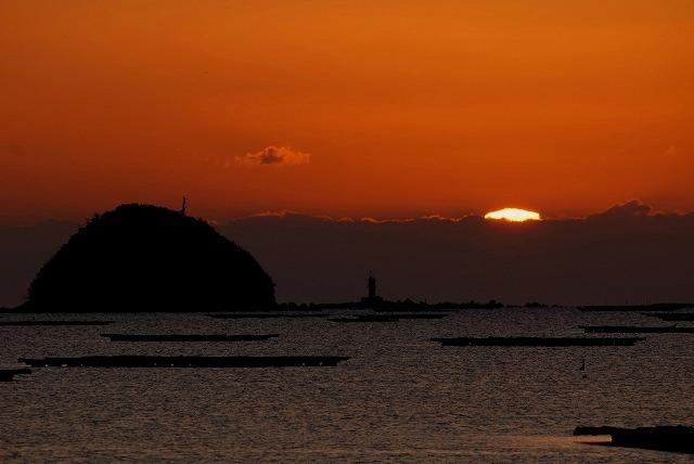 錦海湾の日の出2
