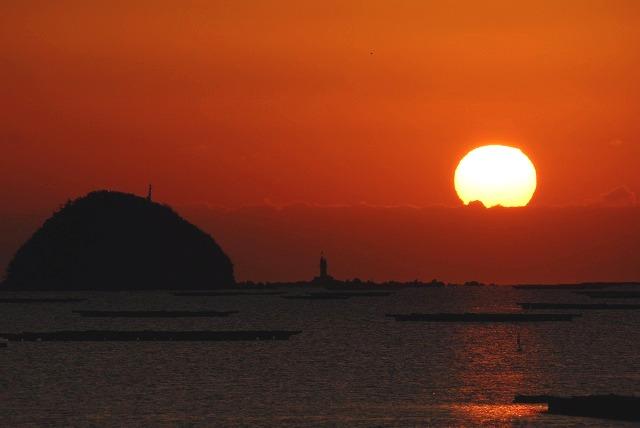 錦海湾の日の出6