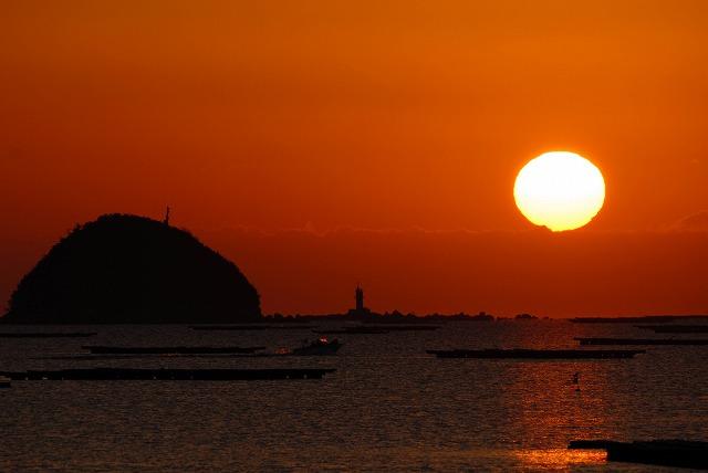 錦海湾の日の出7