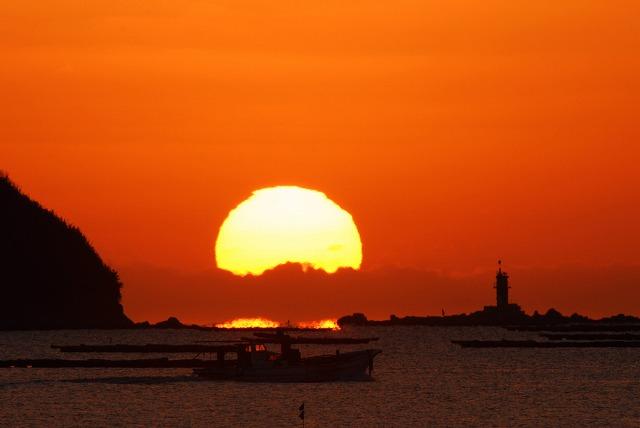 錦海湾の日の出8
