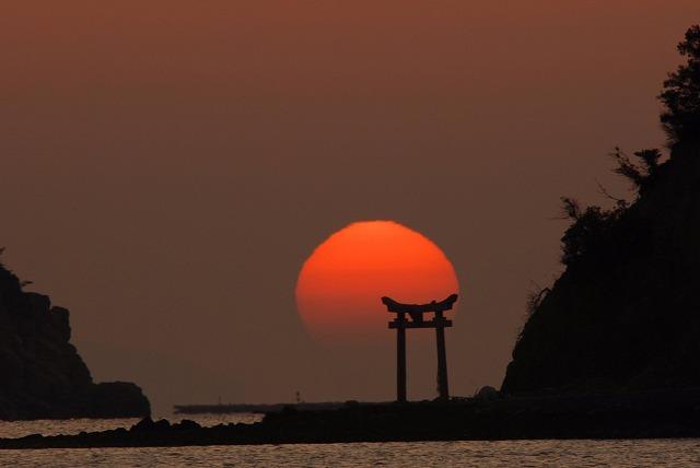 長島の日の出9