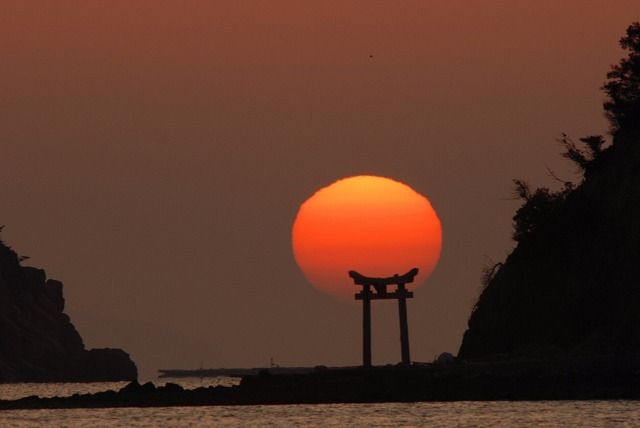 長島の日の出15