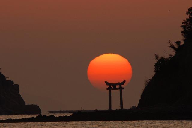 長島の日の出14