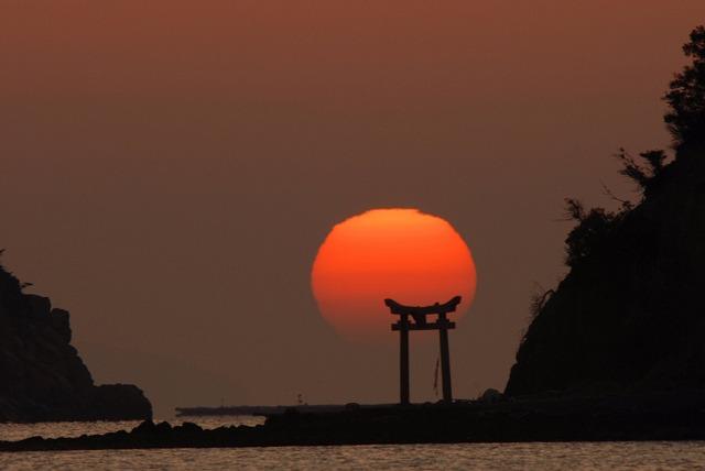 長島の日の出13