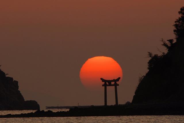 長島の日の出10