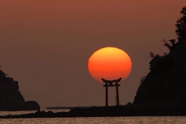 長島の日の出21