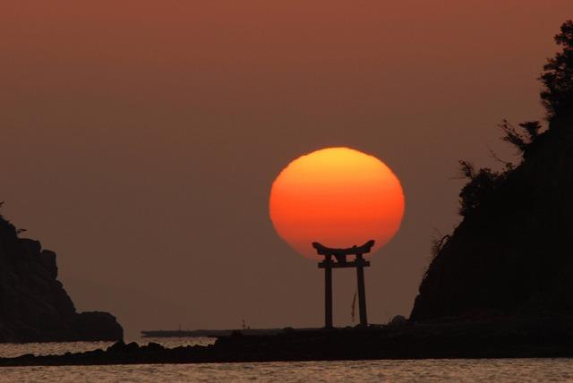 長島の日の出20