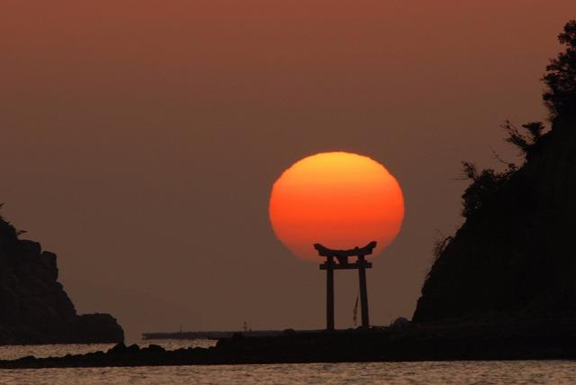 長島の日の出19
