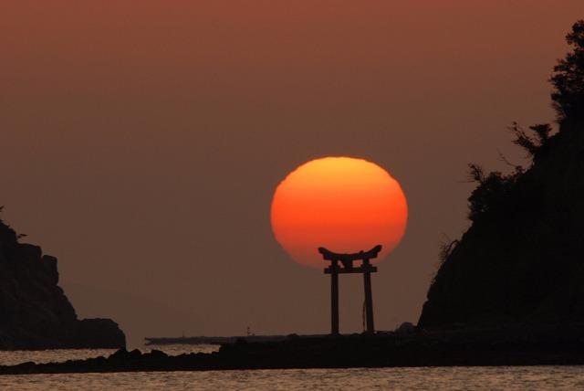 長島の日の出17