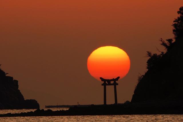 長島の日の出22