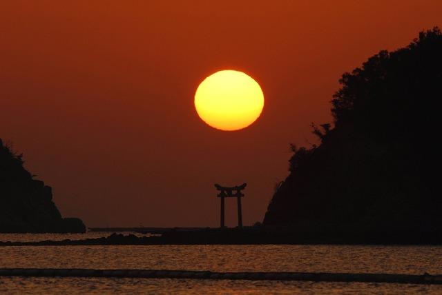 長島の日の出23