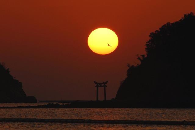 長島の日の出25