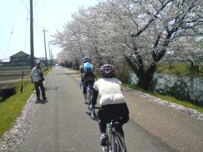 南濃から三川公園へ