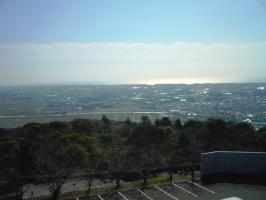 蔵王山山頂250m