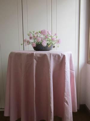 ピンクのクロス