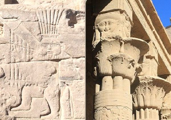 ベス神とハトホル女神
