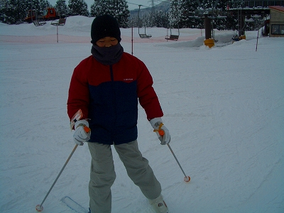 粟巣野スキー場