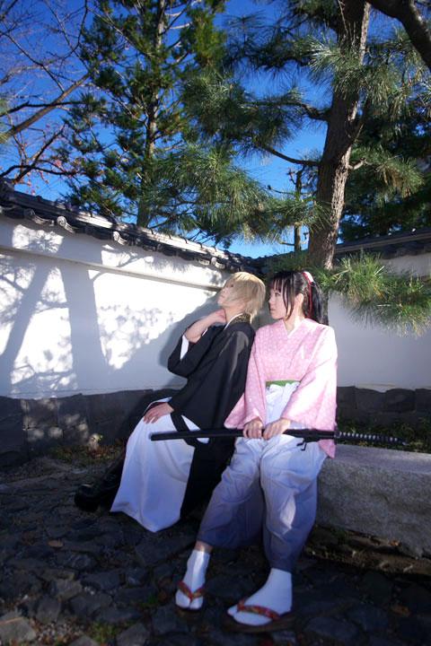 薄桜鬼 〜新選組奇譚〜/雪村千鶴and風間千景/cosplay