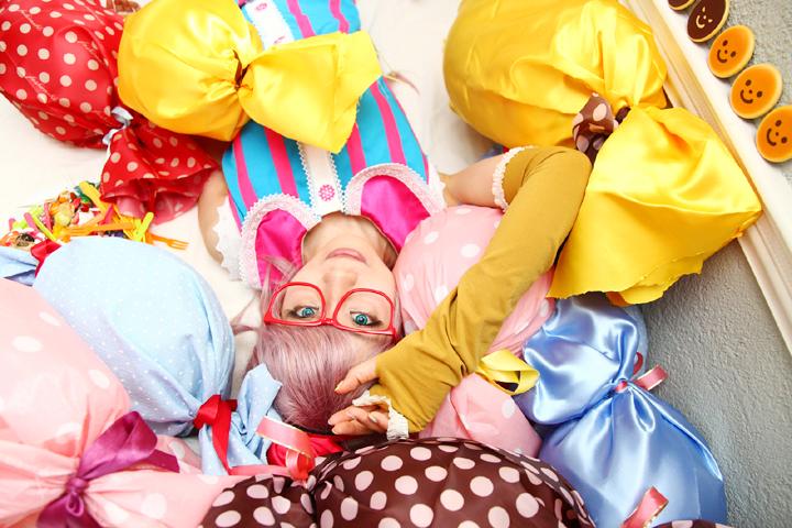 Vocaloid/Lollipop Factory/初音ミク・巡音ルカ・鏡音リン/コスプレ写真