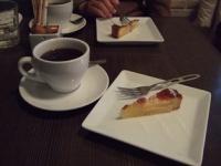1/4 ランチ  コーヒーとケーキ(洋ナシのタルト) 江ノ島PICO