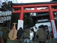 1/4 江ノ島神社鳥居   江ノ島