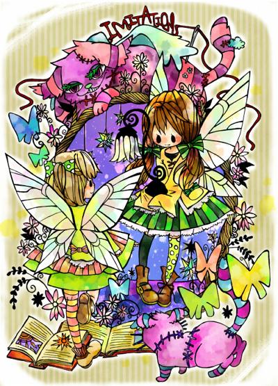 妖精色塗り用