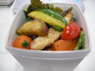 玄米野菜弁当1
