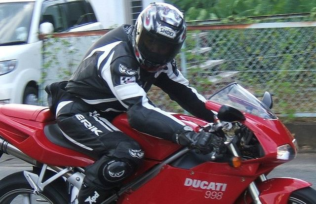 kawasaki乗りからDUCATIへ