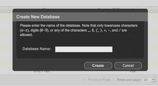 createDatabase