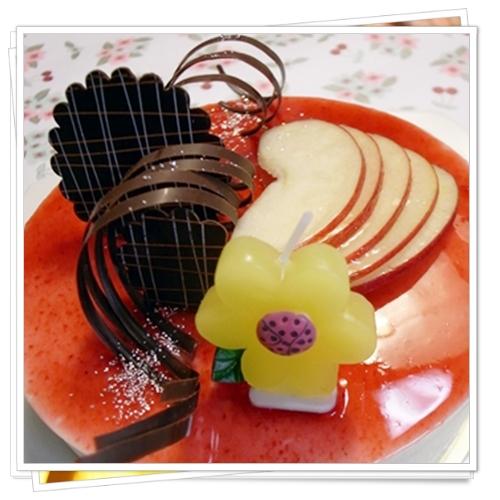 りんごムース2