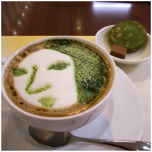 よーじやカフェオレ抹茶