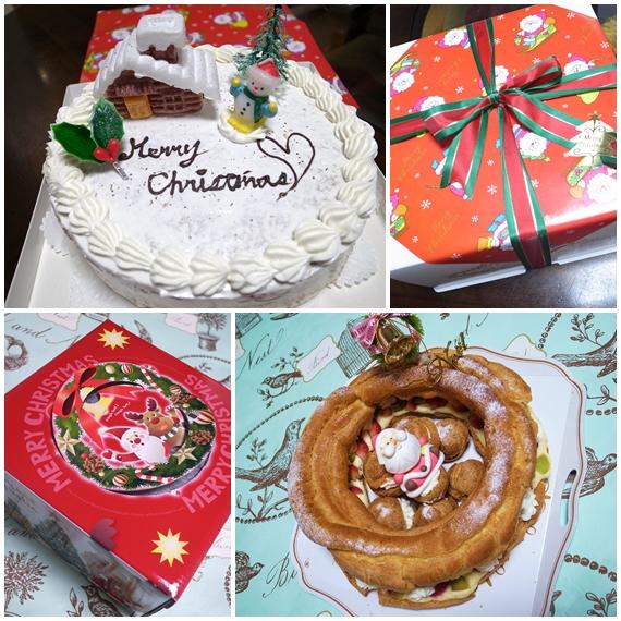 クリスマスケーキ智香作