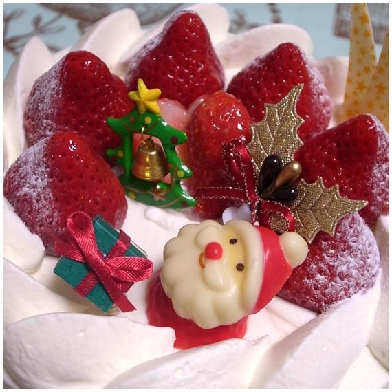 クリスマスケーキショートアップ