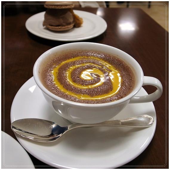 ショコラショーマンゴー