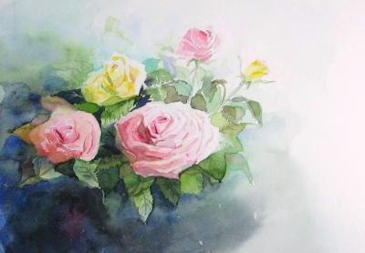 創造のバラ