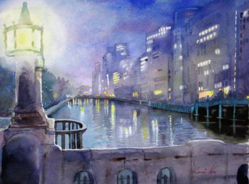 淀屋橋夜景